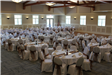 White Table Cloths and Chair Covers for an Event