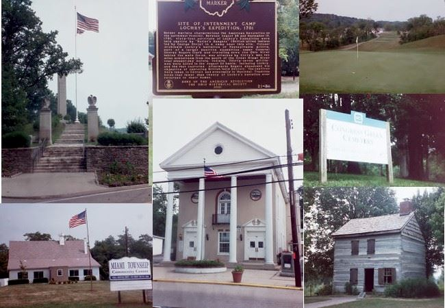 Collage of various interesting locations in Miami Township